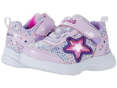 SKECHERS KIDS Sport Lighted Glimmer Kicks Starlet Shine 302310N (Toddler)
