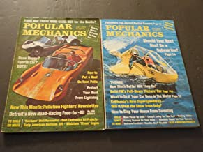 2 Issues Popular Mechanics Jul-Aug 1970, Dune Buggy, Boat Be A Submarine