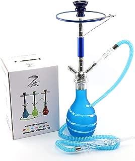 Zebra Smoke: Bubbly 1 Hose Hookah 26