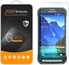 Supershieldz for Samsung (Galaxy S6 Active) Tempered Glass Screen Protector, Anti Scratch, Anti Fingerprint, Bubble Free
