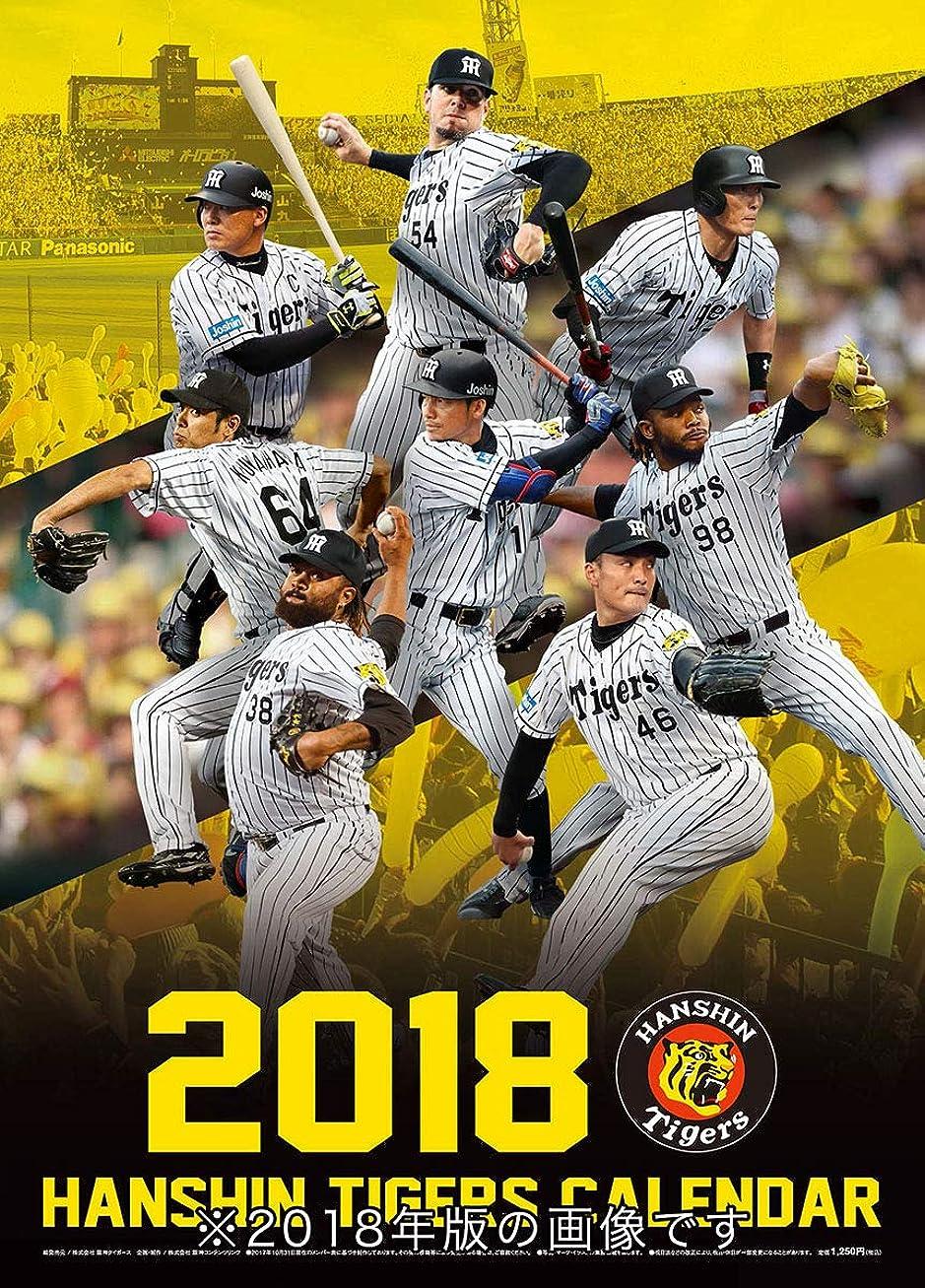 きらめく成人期スタイル阪神コンテンツリンク 阪神タイガース 2019年 カレンダー CL-559 壁掛け A2