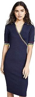 فستان لل نساء مقاس M , اسود - فساتين عملية كاجوال