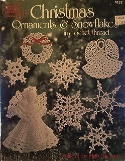 Christmas Ornaments & Snowflakes in Crochet Thread (ASN-1033)