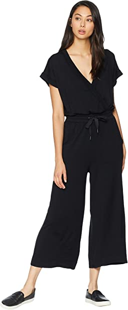 Super Soft French Terry Cropped Jumpsuit