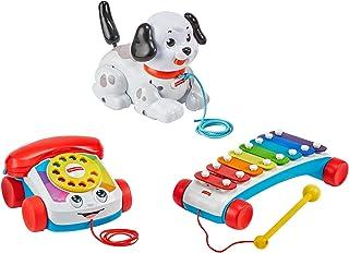 Fisher-Price - Juego de 3 juguetes para niños
