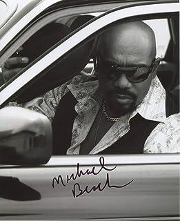 Michael Beach Signed Autograph Assassins Tale Roman 8x10 Photo W COA pj