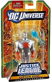DC Universe Justice League Unlimited Fan Collection Action Figure Captain Atom Silver