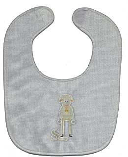 Caroline's Treasures Alphabet Baby Bib, S for Sheep, Large