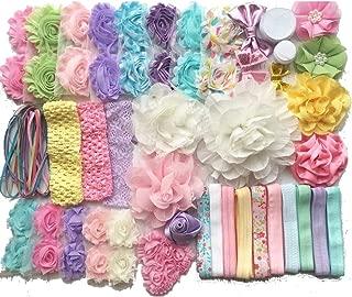 Baby Shower Headband Kit Makes Over 30 Headbands, Baby Shower Headband Station, DIY Baby Headband Kit -