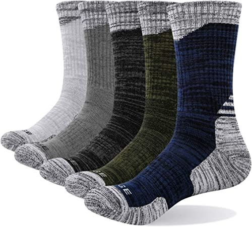 Calcetines de Acampada y Senderismo para Hombre Color Asfalto tama/ño 44-45 Falke