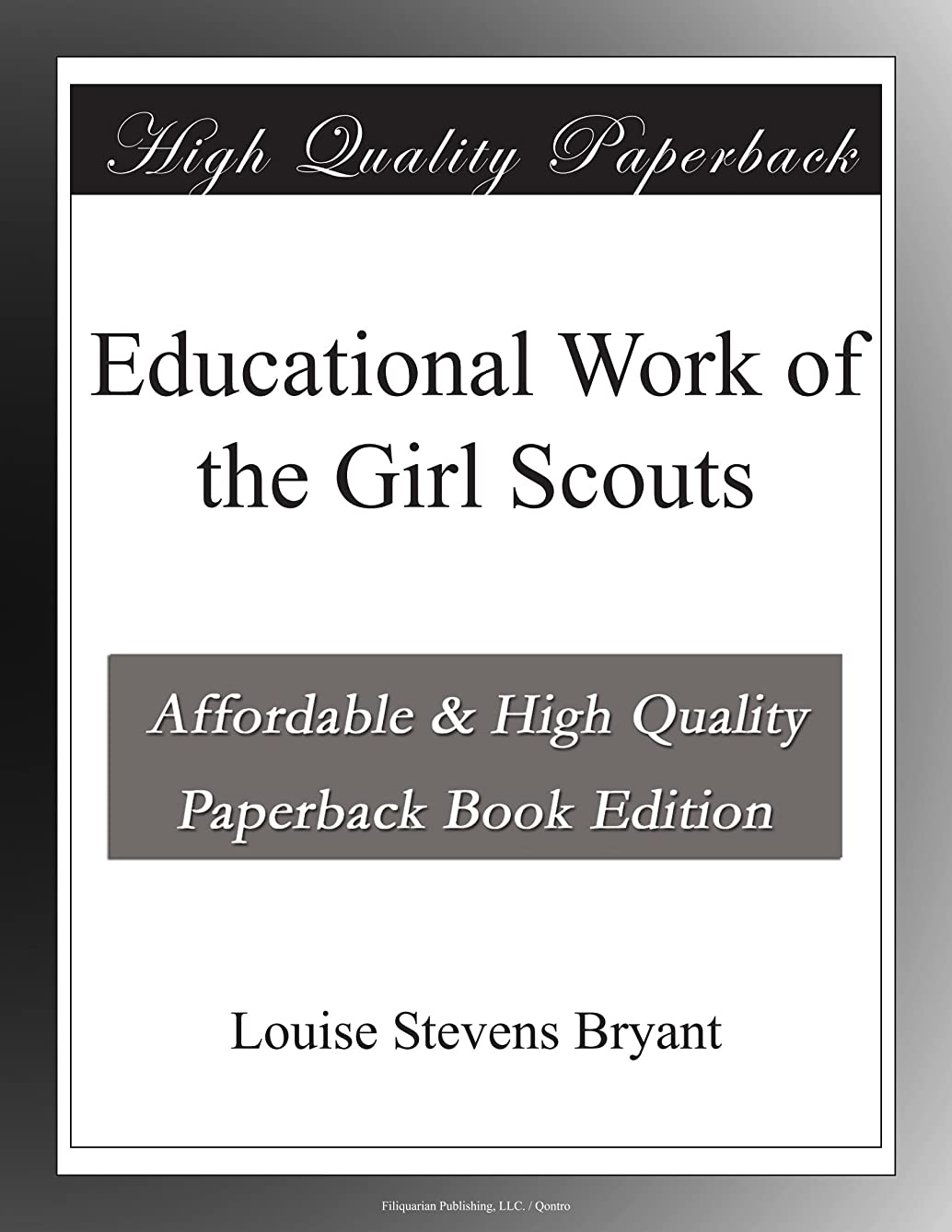 Educational Work of the Girl Scouts