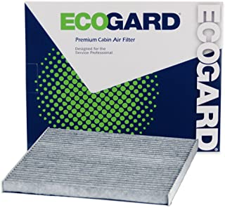 ECOGARD XC10219C Premium Cabin Air Filter with Activated Carbon Odor Eliminator Fits Nissan Altima 2013-2018, Pathfinder 2...
