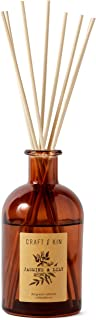 Craft & Kin Reed Diffuser Sticks 'Jasmine & Lily Scent' Set, includes 8..