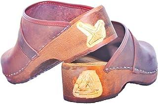 Original Swedish clogs wooden clogs men's clogs design Nordmann clogs