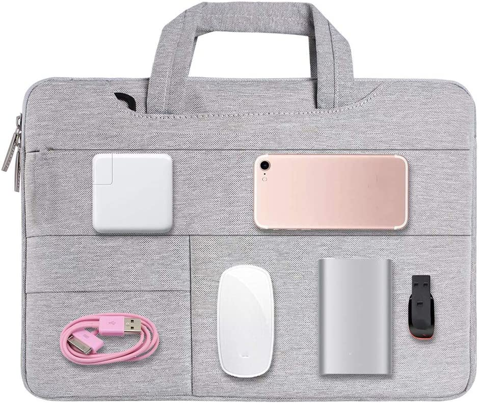 13.3 inches 14.1 inches Notebook Handbag Grey 11.6 inches 12.5 inches DSstyles Simple Laptop Case Bag for 11.6 inches