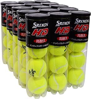 DUNLOP(ダンロップ) プレッシャーライズド スリクソン【SRIXON】テニスボール 硬式テニスボール 60球入り