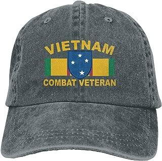 Men Women 23rd Infantry (Americal) Division Vietnam Combat Veteran Baseball Cap Denim Dad Hat Trucker's Cap