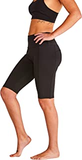 WEST ZERO TWO High Waist Shorts- Workout, Yoga, Bike, Fitness Activewear with Tummy Control and Pockets
