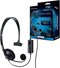 dreamGEAR Broadcaster Wired Headset for the PS4 with Flexible Boom Microphone and Inline..