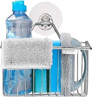 Organizador del Fregadero de la Cocina para la Esponja Herramientas de Limpieza de Cocina Esponja para Fregar Favourall Almohadillas de Limpieza para esponjas