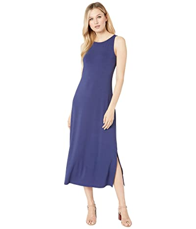 Tommy Bahama Tambour Sleeveless Midi Dress (Island Navy) Women