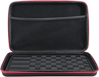 Leeko Large Black Hard Shell Protective KBag Released Convienent Bag for Coils, Tanks, Mods