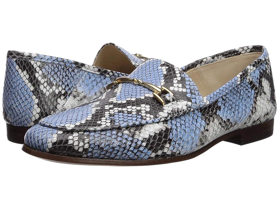 Sam Edelman Loraine (Cornflower Blue Multi Exotic Snake Print Leather) Women