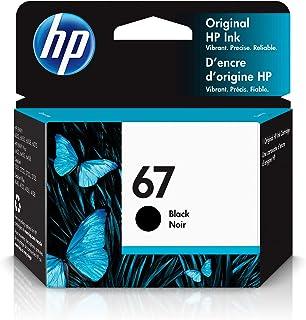 HP 67 | Ink Cartridge | Works with HP ENVY 6000 Series, HP ENVY Pro 6400 Series, HP DeskJet 1255, 2700 Series, DeskJet Plu...