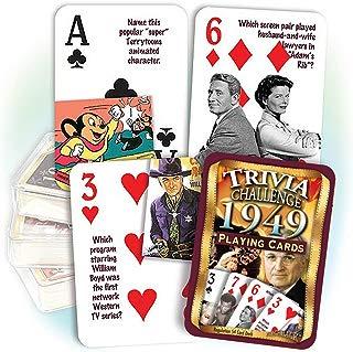 Flickback Media, Inc. 1949 Trivia Playing Cards: 70th Birthday