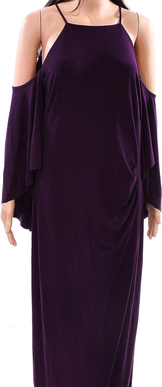 Ralph Lauren Womens Cold Shoulder Bodycon Dress Raisen 14