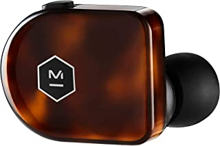 Master & Dynamic MW07 Plus True Wireless Earphones - Noise Cancelling with Mic Bluetooth, Lightweight in-Ear Headphones - Tortoise Shell