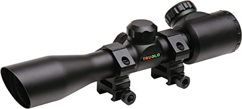 TRUGLO Crossbow 4X32 Compact Scope w/Rings