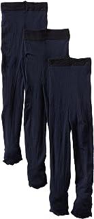 Jefferies Socks - Medias de piel suave para niñas (paquete de 3)