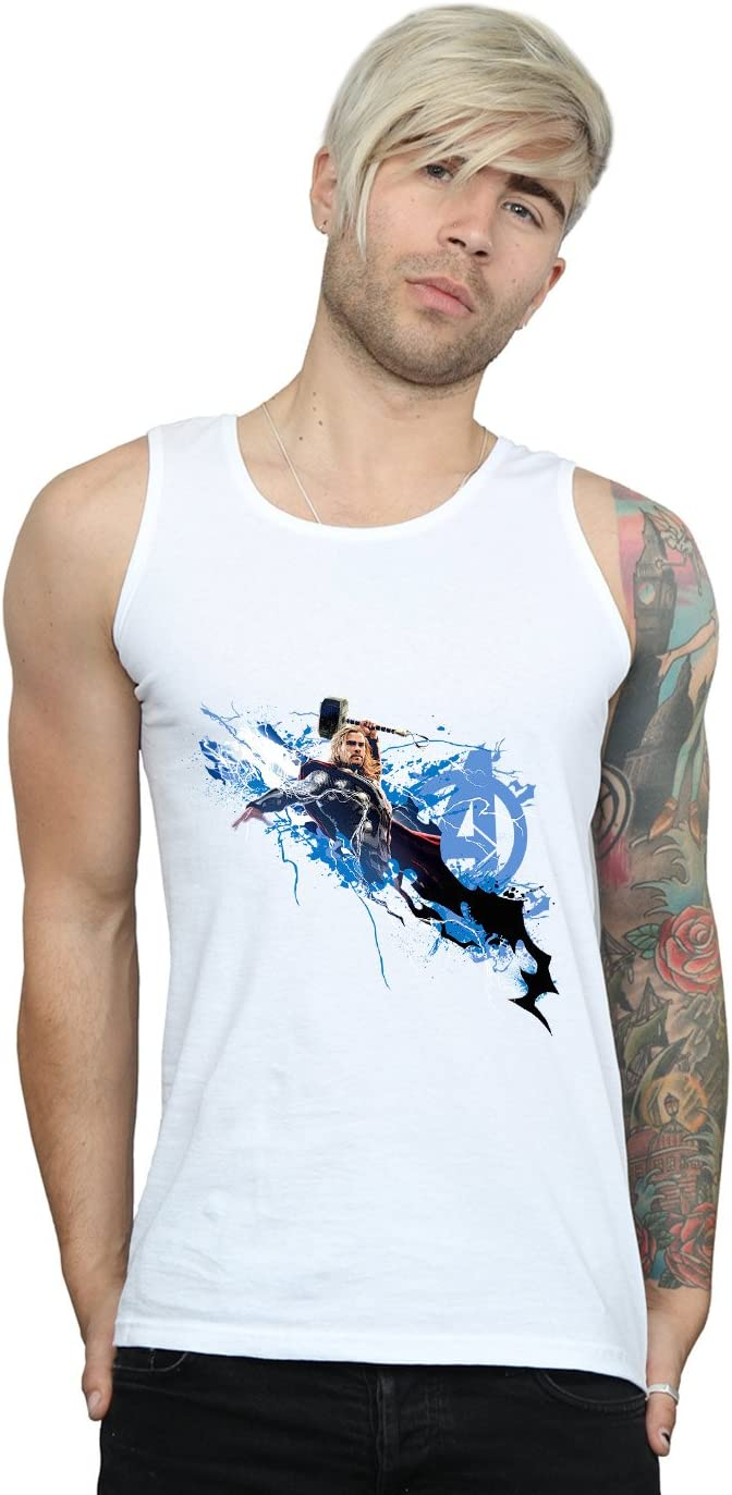Marvel Hombre Avengers Thor Splash Camiseta Sin Mangas ...