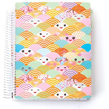 Paper House Productions Kawaii Stationery, Planner, 1-Pack, Single