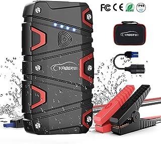 Avviatore di emergenza per auto batteria moto camper power bank multiuso portatile Booster starter 8 in 1 multifunzione smartphone rompivetro portatile tagliacavo security veicolo