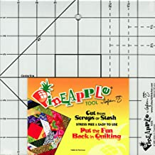 Colourful Stitches Pineapple Tool: Cut From Scraps or Stash, Stress Free and Easy to Use,8.5 inches x 8.5 inches