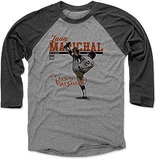 500 LEVEL Juan Marichal Shirt - Vintage San Francisco Baseball Raglan Tee - Juan Marichal Play