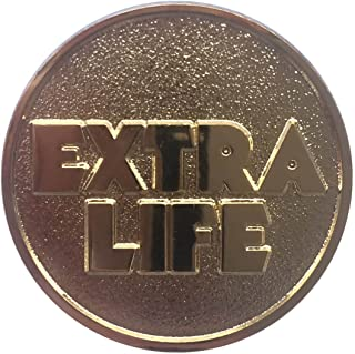 Extra Life Coin Quarter - Ready Player One - Collectibles - Gold