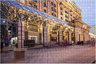 Jigsaw Puzzle 1000 Pieces Christmas and New Year holidays illumination and Ritz Carlton Moscow Adults Leisure Children Edu...