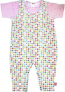 Zutano Celery Dot Overall Unisex Baby 0-6 months