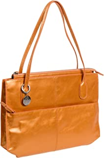 Women's Genuine Leather Vintage Friar Top Handle Shoulder Bag (Radiance)