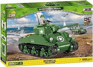 Small Army 2464, WW II US Army Sherman M4A1, 400 Building Bricks by Cobi Sherman M4A1 Sherman M4A1, 400 Building Bricks by Cobi