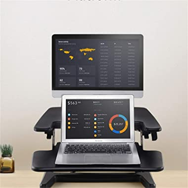 Adjustable Standing Desk Monitor Stand 3-10kg Air Spring Height Adjustable Mount Stand Computer Monitor Home Office Use Stand