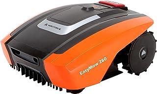 YARD FORCE EasyMow260 - Robot cortacésped para hasta 260 m², manejo y fácil de Usar, inclinación del 30 %, batería de Ione...