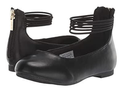 Nine West Kids Maggie (Toddler/Little Kid) (Black Smooth) Girl