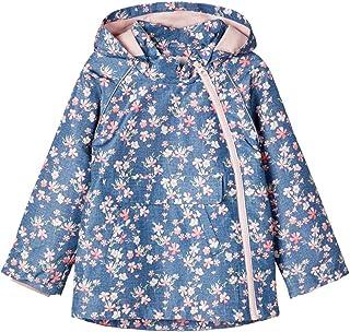 Giacca da Mezza Stagione Colore: Blu Scuro//Multicolore Name It NMFMAXI 13177694 Motivo: Farfalle
