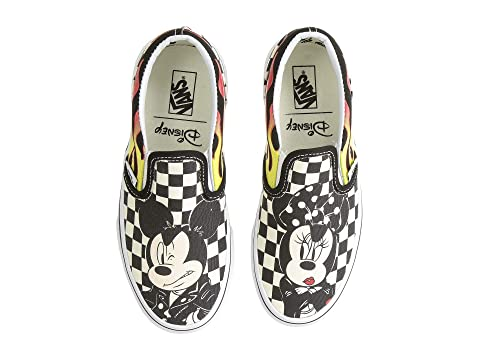 9914324944 Vans Kids Mickey s 90th Classic Slip-On (Little Kid Big Kid) at ...