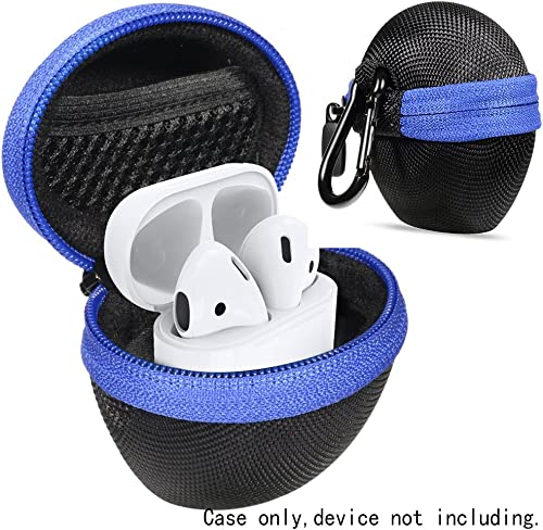 discount WGear Portable Semi-Hard Protective Hard Shell Case for AirPods 1, 2, popular Shock and Shake Proof, Easy to go carabiners, mesh Pocket for Cable and Other Accessories, sale Strong Light Weight case online