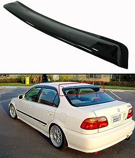 Topline For 1996-2000 Honda Civic Sedan Sun Rain Guard Vent Shade Window Visors